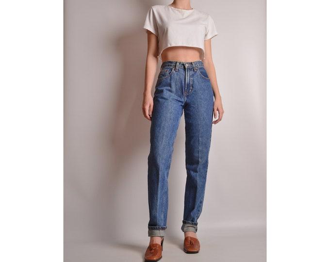 "Vintage High Waist Jeans (25""W)"