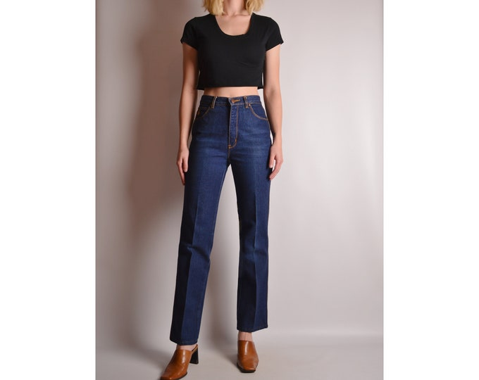 Vintage 70's Flare Jeans (XS)