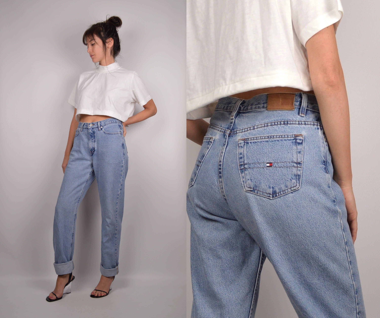 048269d3 90's Tommy Boyfriend Jeans High Waist Denim