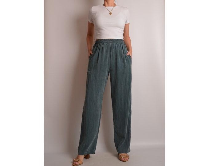 Vintage Silky Lounge Pants (XS-S)