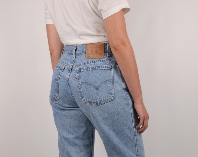 """SALE Levi's 550 Tapered Cut Off Vintage Jeans / 29""""W"""
