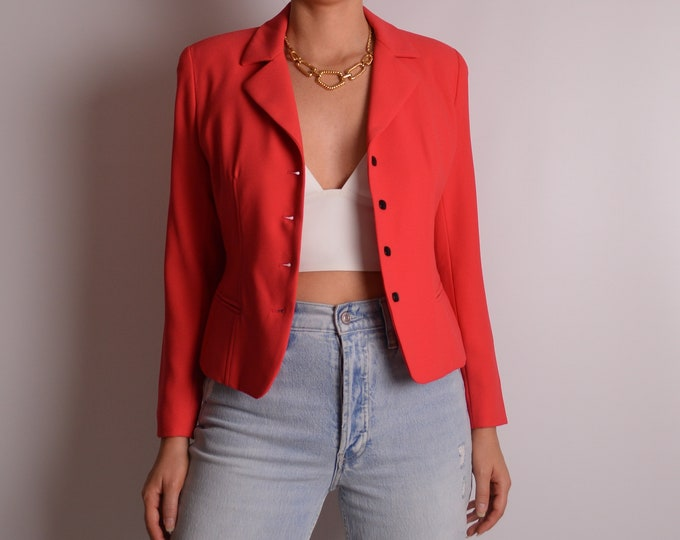 Vintage GIANNI Coral Jacket (XS-S)
