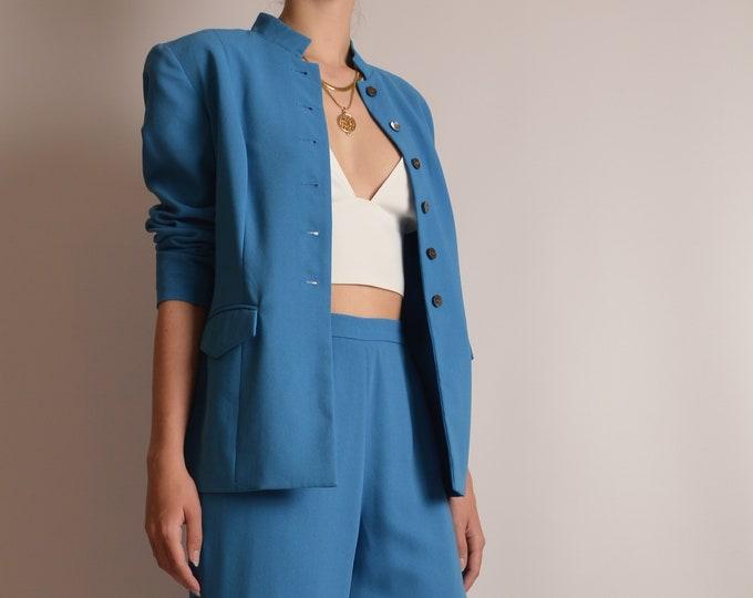 "Vintage Turquoise Suit (25""W)"