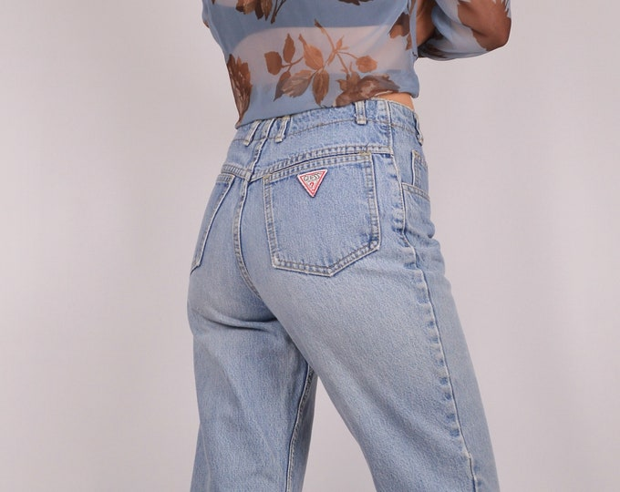 Vintage Guess Button Fly Jeans / Sz 4