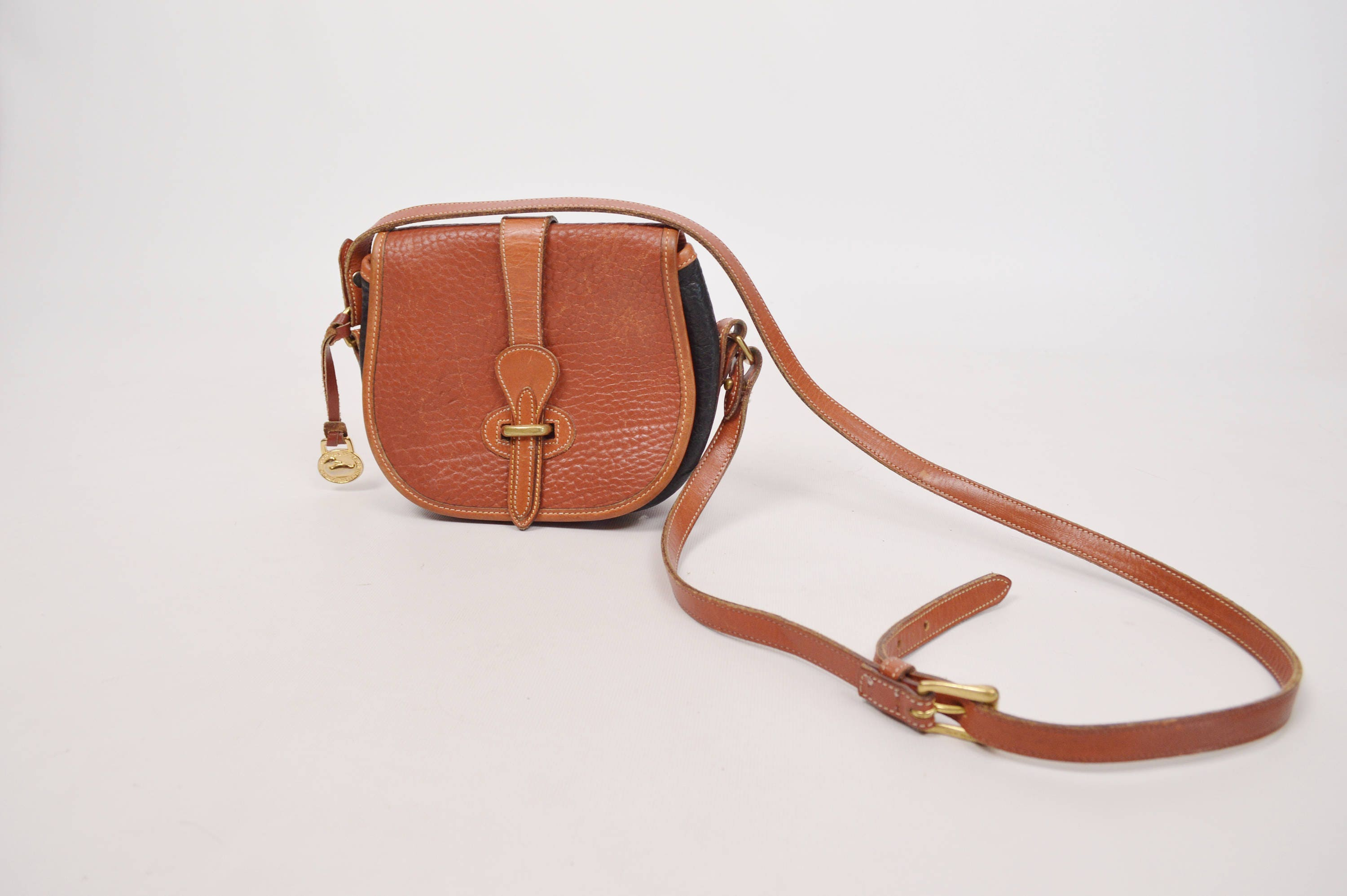 76ae3aab180a RARE Tri-color Dooney   Bourke Equestrian Tack Bag All Weather ...