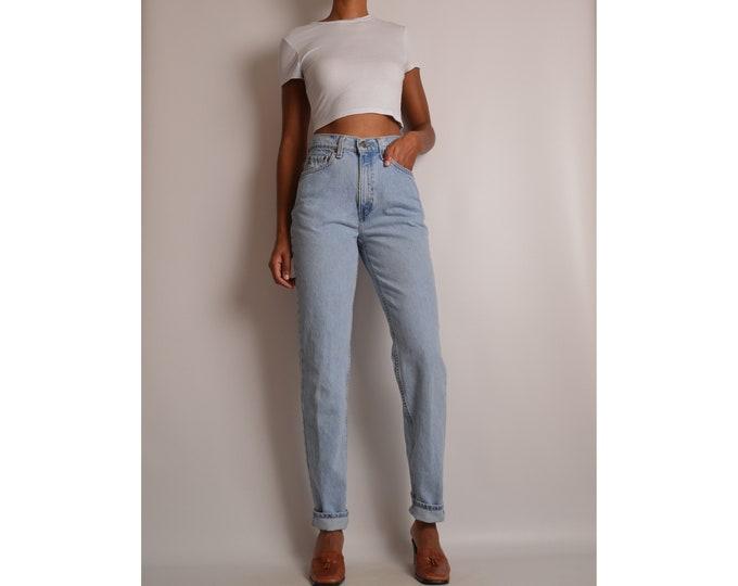 "Vintage LEVI'S 512 Slim Fit Jeans (28.5""W) High Waist"