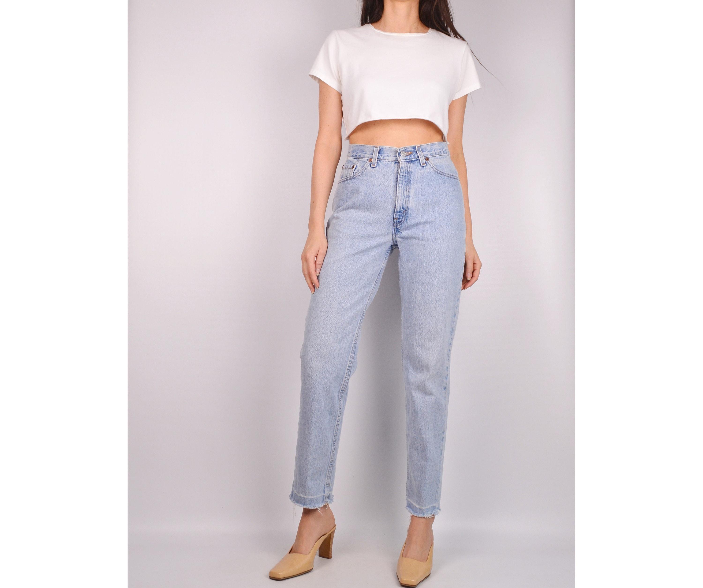 292c4cc2 Vintage LEVI'S 512 Frayed Jeans / 28