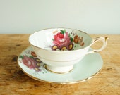 Paragon Queen Mary Double Warrant Cup and Saucer