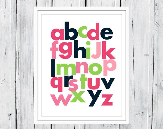 ABC Nursery Decor Print