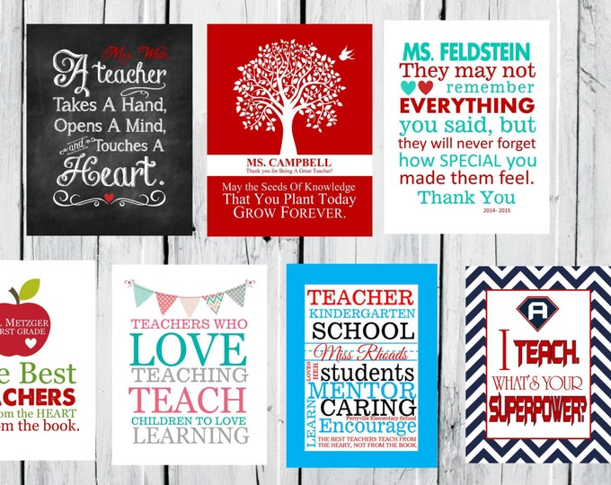 Teacher Appreciation Gift  -   CANVAS Special Christmas Prices - Teacher Christmas Gift