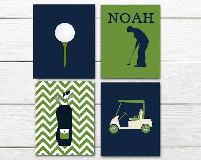 Golf Themed Decor - Boy - Custom Colors - Golf Nursery Decor