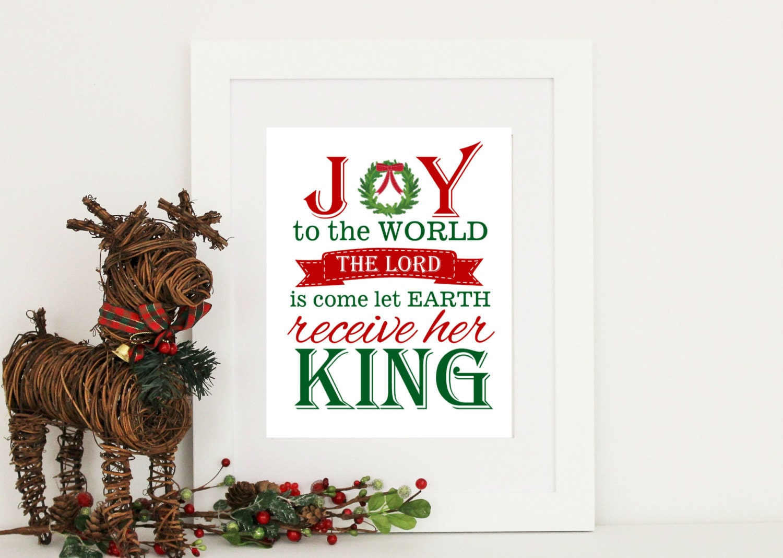 Christmas Print. Subway Art Digital INSTANT Download PDF and   Etsy