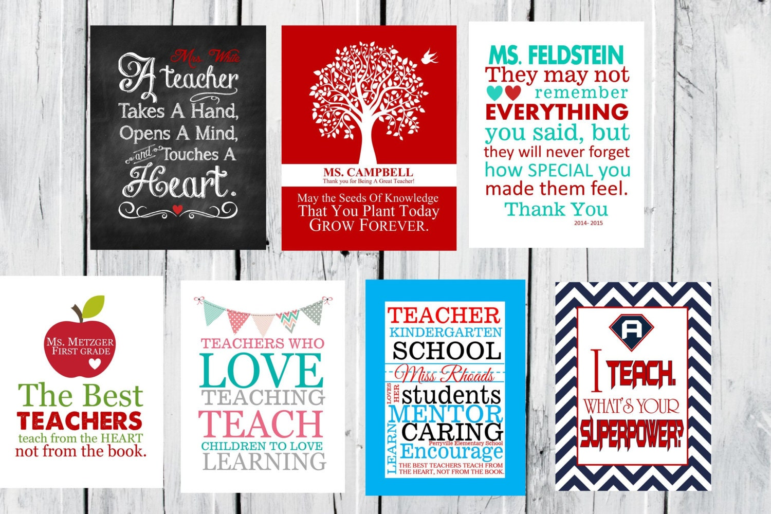 Teacher Appreciation Gift - CANVAS Special Christmas Prices ...