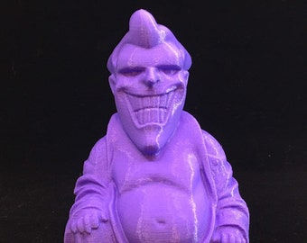 The Joker Buddha (Purple)