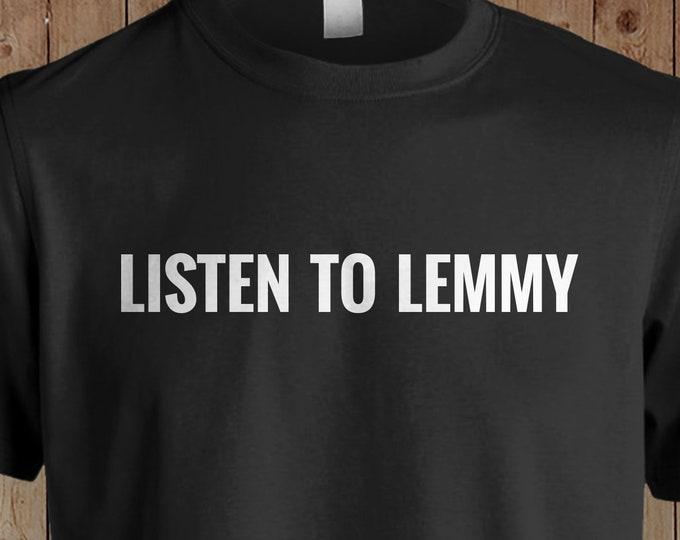 "Motorhead ""Listen to Lemmy"" - Tshirt"