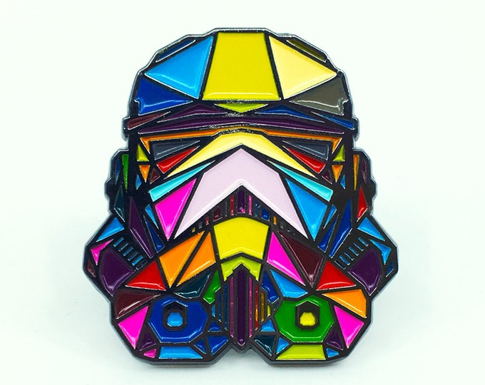 "Stormtrooper Enamel Pin - 2"" tall"