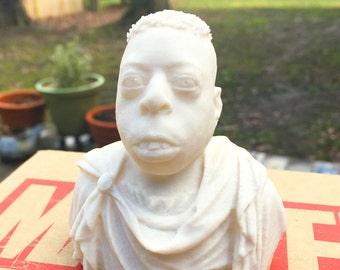 Howard Stern - Beetlejuice Roman Emperor - Fan Art Sculpture - Desert Sand