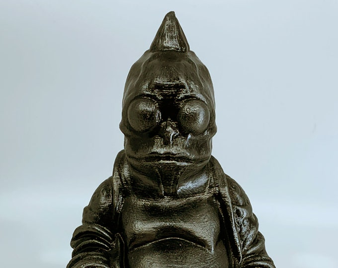 Sleestak- Land of the Lost - Buddha (Hammered Iron)
