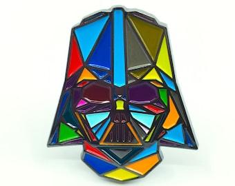 """Vader Enamel Pin - 2"""" tall"""