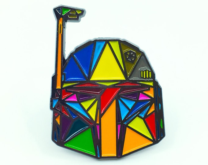 "Boba Fett Enamel Pin - 2"" tall"