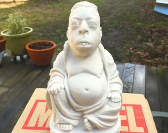 Howard Stern - Beetlejuice Zen Buddha - Fan Art Sculpture - Desert Sand