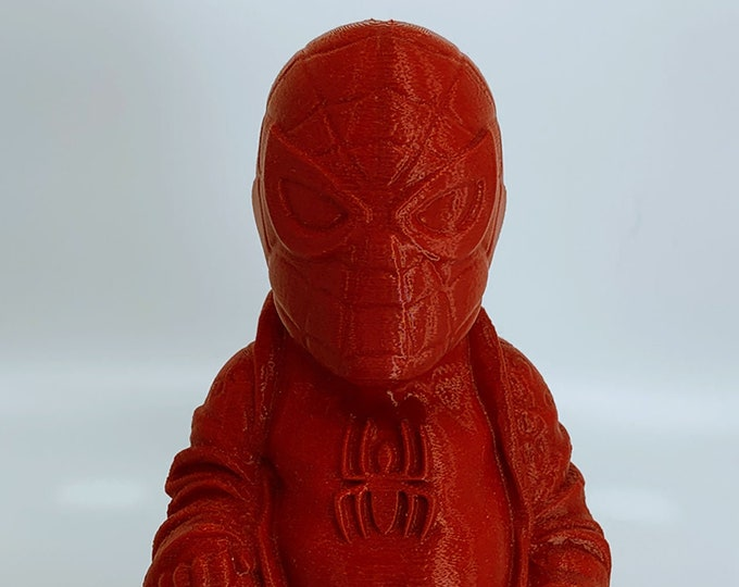 Spiderman Buddha (Crimson Red)