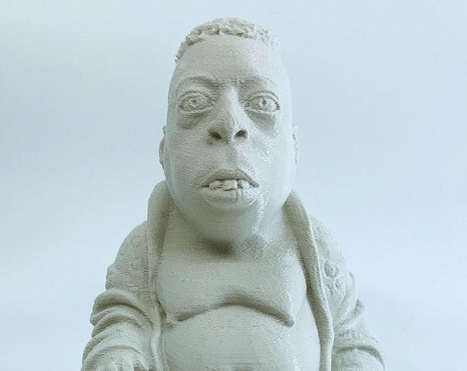 Howard Stern - Beetlejuice Zen Buddha - Fan Art Sculpture