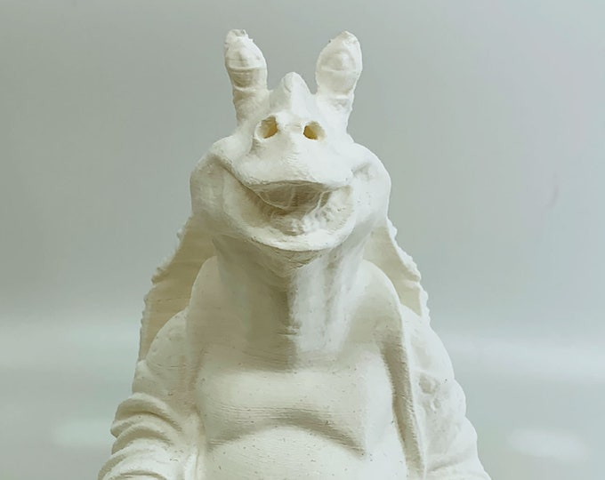 Jar Jar Binks Buddha (White)