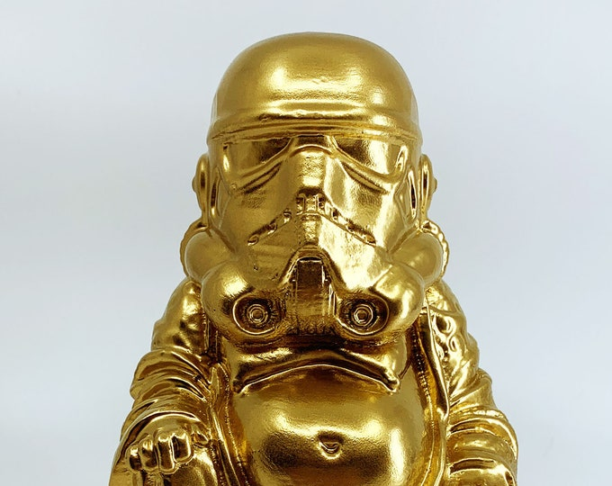 Stormtrooper - Star Wars Buddha  (Brilliant Gold)