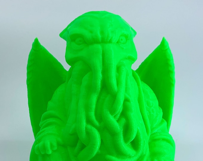 H. P. Lovecraft's Cthulhu Buddha | H. P. Lovecraft | Cthulhu Figurine | Novelty Gift | Mythos Creature | The Call of Cthulhu Glow in Dark