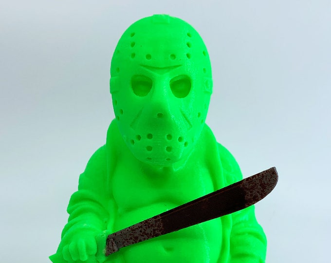 Friday the 13th - Jason Voorhees Buddha (Glow in the Dark Green)