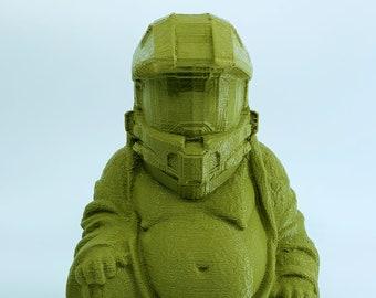 Master Chief - Halo Buddha (G.I. Joe Green)