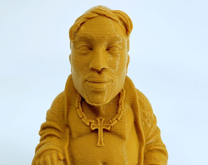 Tupac Shakur Buddha - Light Brown