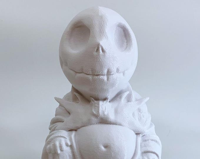 Jack Skellington Buddha (White)