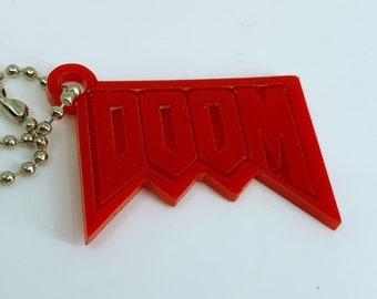 Doom Video Game - Keychain
