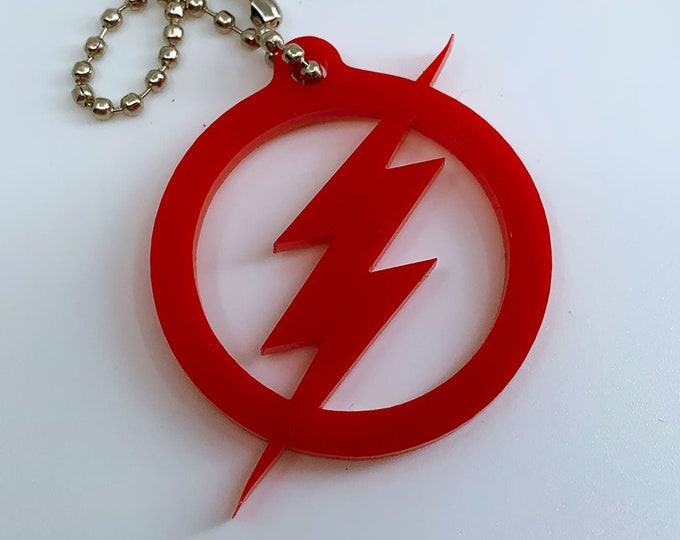 The Flash Logo - Keychain