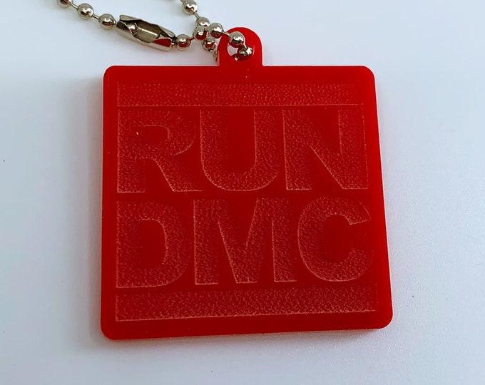 RUN DMC Logo - Keychain
