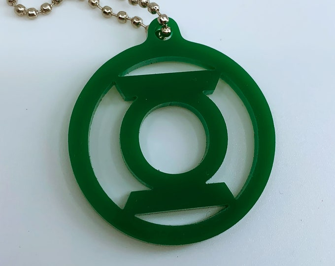 Green Lantern Logo - Keychain