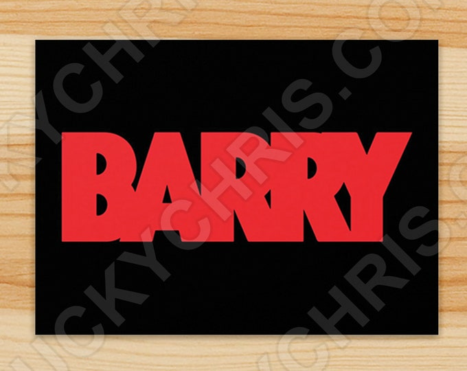 BARRY - Sticker