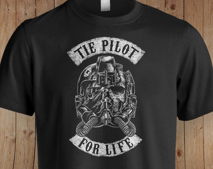 Tie Pilot Star Wars Inspired Shirt | Star Wars | The Mandalorian | Star Wars Gift | The Empire Strikes Back