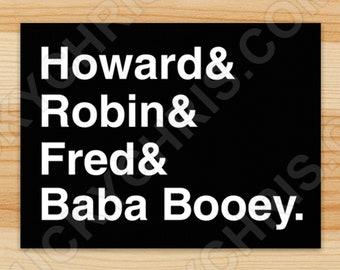Howard Stern Origins - Sticker