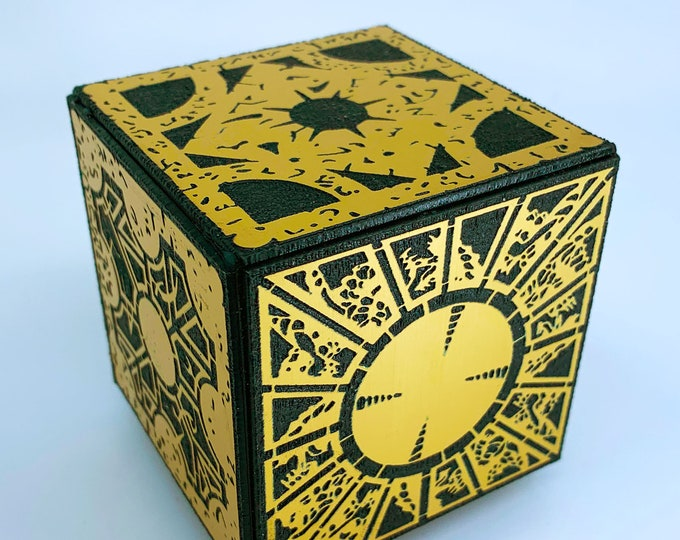 Hellraiser Puzzle Box | Clive Barker | Hellraiser Movies | Hellraiser Puzzle Box | Hellraiser Cube | The Cenobites | Horror Films | Pinhead