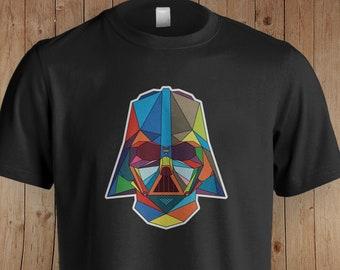 Darth Vader Star Wars Inspired Shirt   Star Wars   Star Wars Gift   The Empire Strikes Back   Vader Geometric