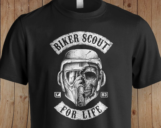 Biker Scout Star Wars Inspired Shirt | Star Wars | The Mandalorian | Star Wars Gift | The Empire Strikes Back