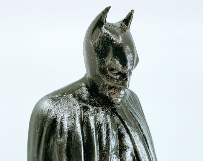 Batman Memorial Statue (Hammered Iron Paintjob)