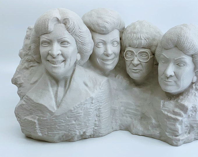 Golden Girls Mt. Rushmore Statue | The Golden Girls | Golden Girls Gift | Golden Girls Party | Golden Girls Art