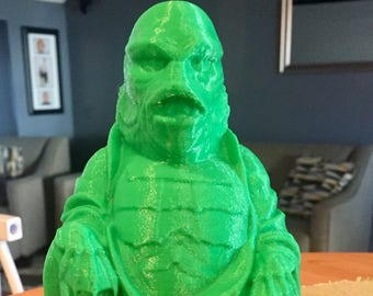 Creature from the Black Lagoon  Buddha (Leaf Green)