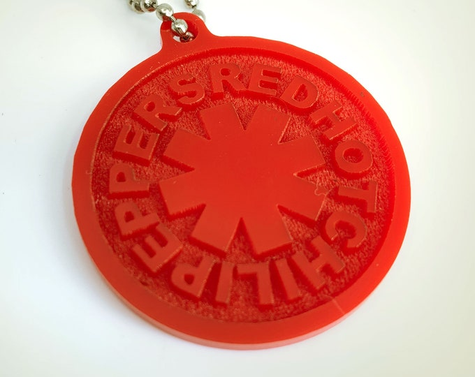 The Red Hot Chili Peppers - Keychain