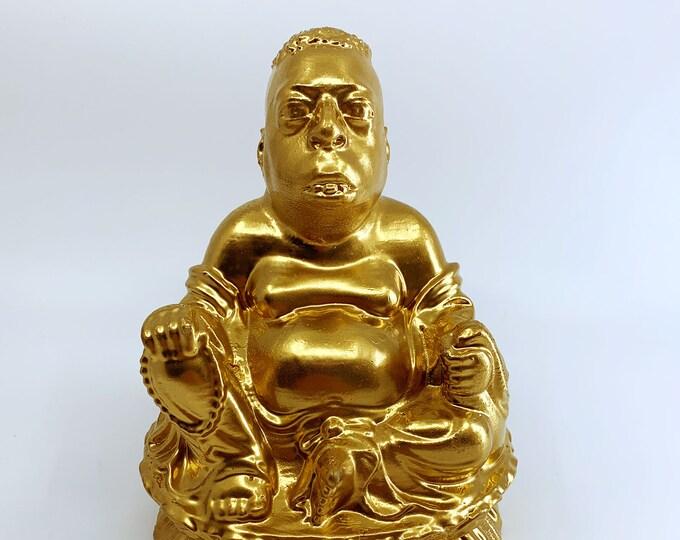 Howard Stern - Beetlejuice Zen Lotus - Fan Art Sculpture