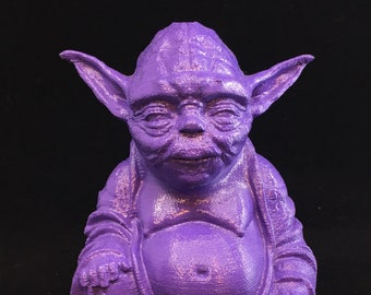 Star Wars - Yoda Buddha (Purple)